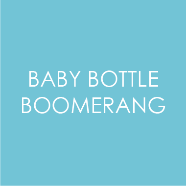 Baby Bottle Boomerang